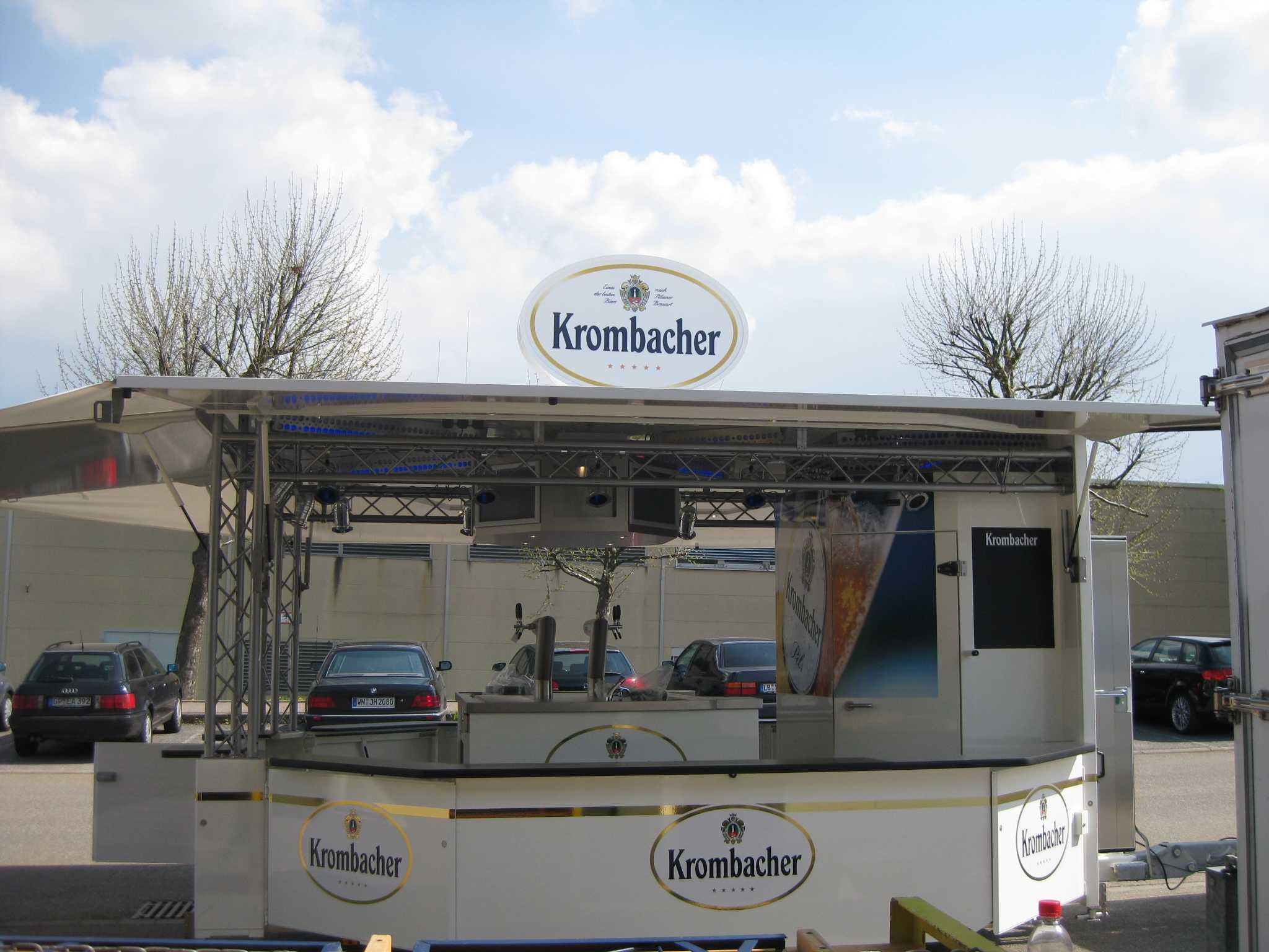 krombacher depot all in one ludwigsburg ihre eventagentur