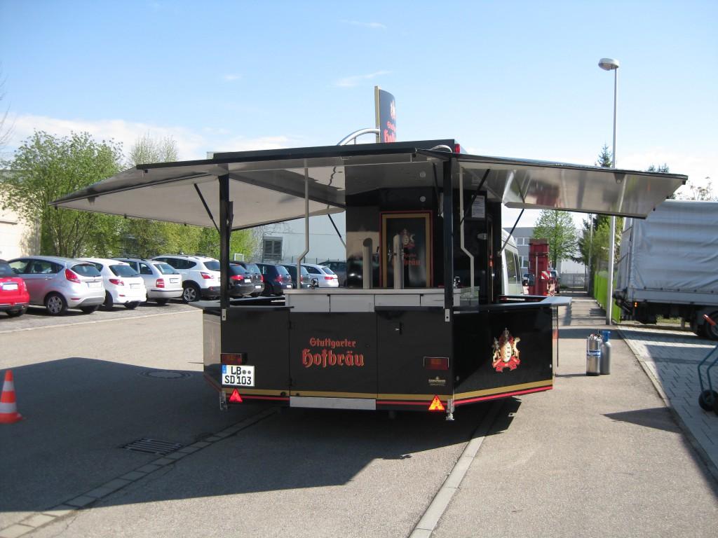 Stuttgarter Hofbräu Ausschankwagen
